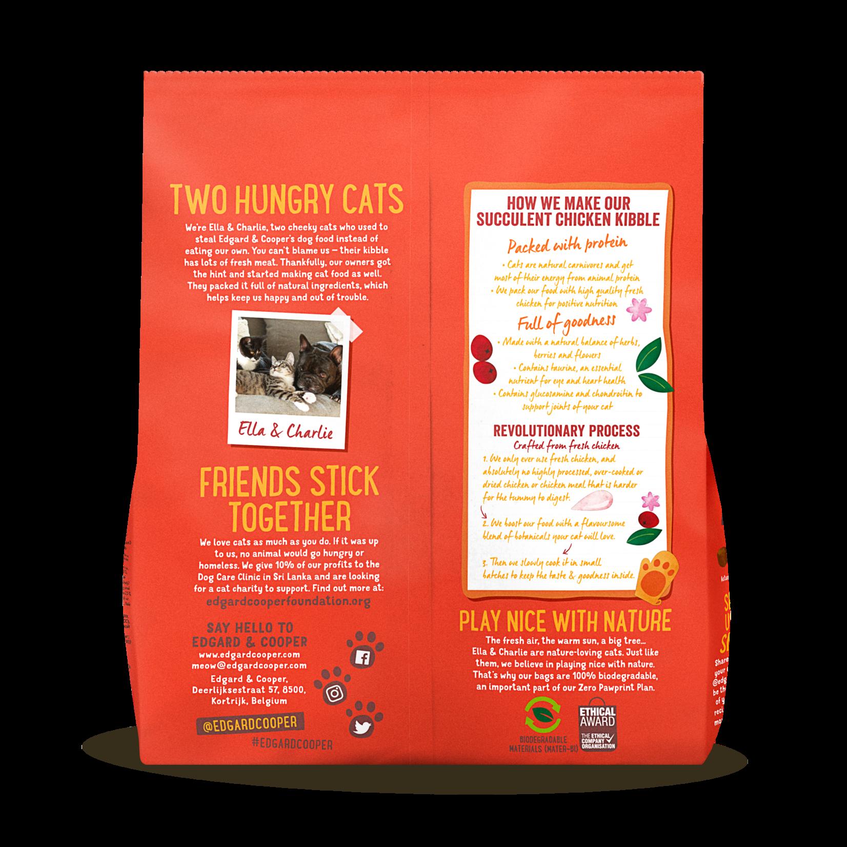 Edgard&Cooper Adult Kip - Kattenvoer 1,75 kg