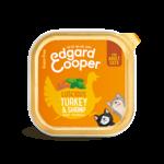 Edgard&Cooper Kuipje Kat Adult 85 gram Kalkoen&Garnaal