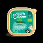 Edgard&Cooper Kuipje Kat Adult Biologisch 85 gram Kip&Vis