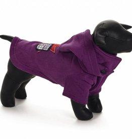 Hondensweater Hoodie Dog paars 46 cm