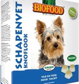 Biofood Biofood schapenvet bonbons knoflook