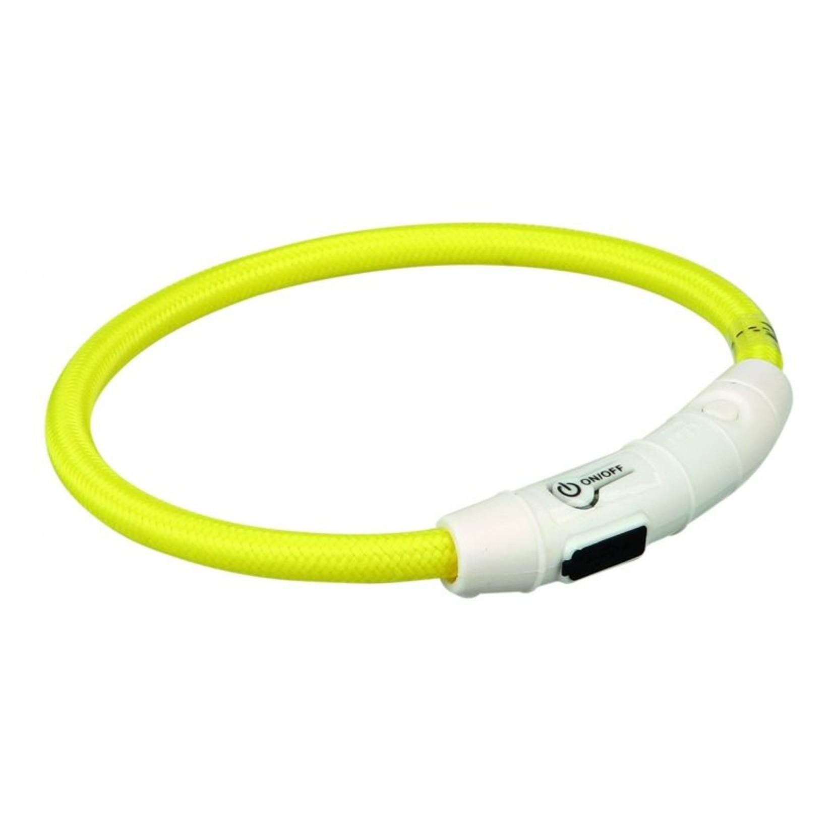 Flash Light Ring. Halsband