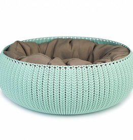 Curver Cozy Pet Bed. Blauwgrijs