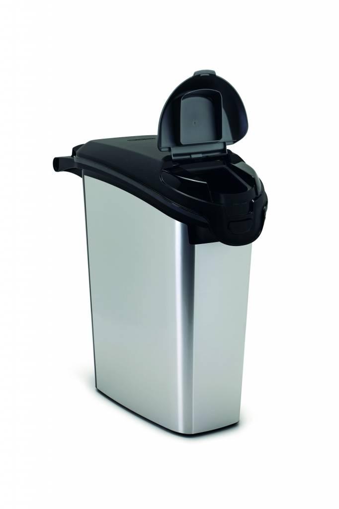 Curver Voercontainer Curver Metallic 10 kg