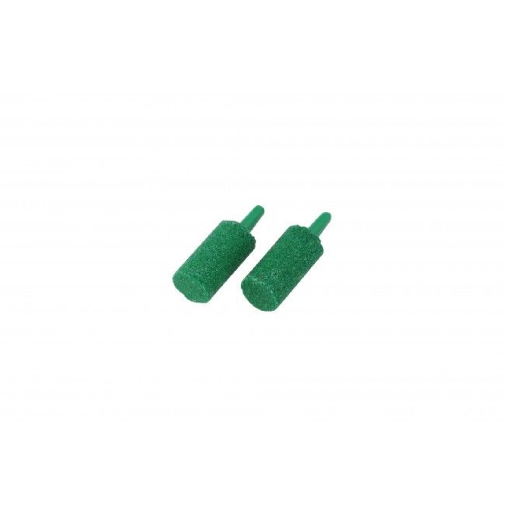 Uitstroomsteentjes groen, 2 stuks