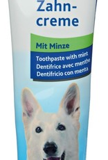 Hondentandpasta met 3 borstels