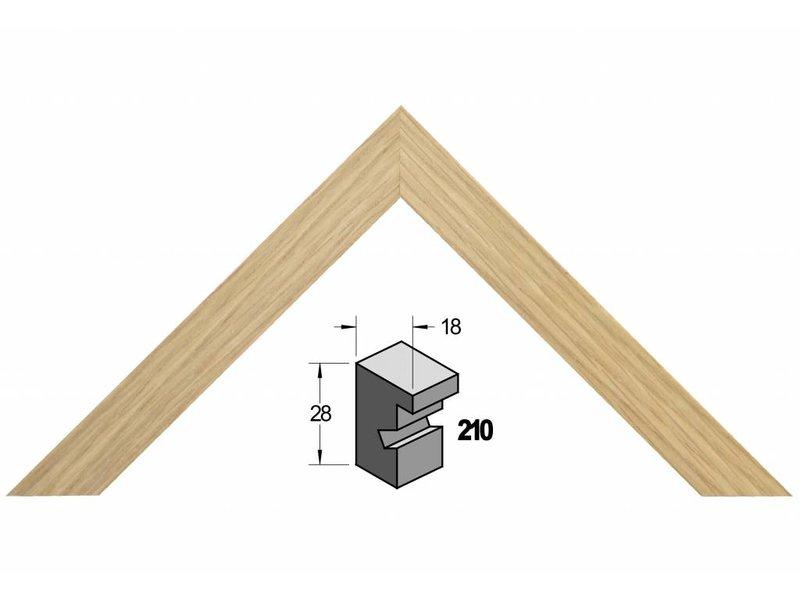 Barth Blank eiken houten Barth wissellijst 210-222