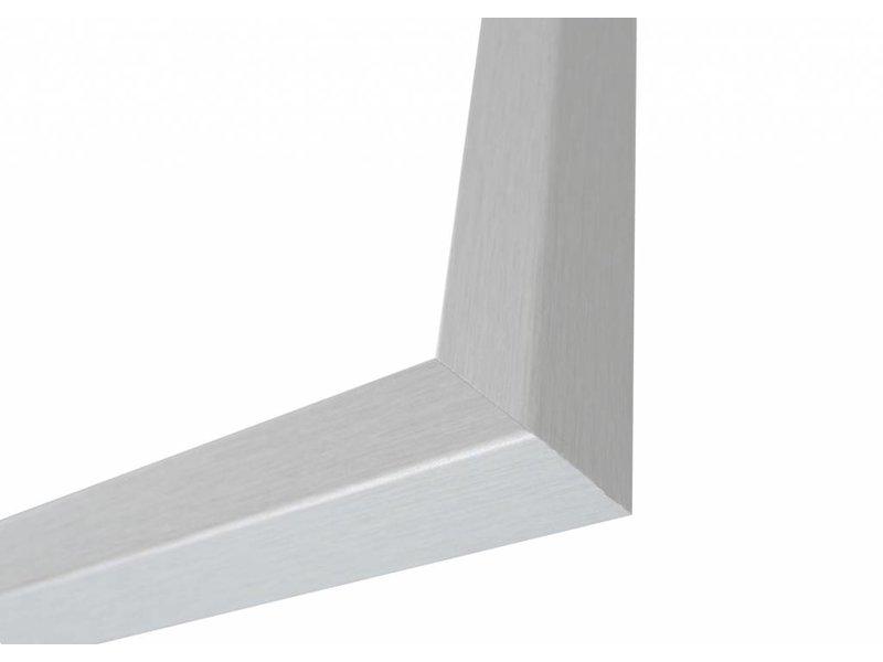 DLF Zilver geborstelde Basic Line wissellijsten