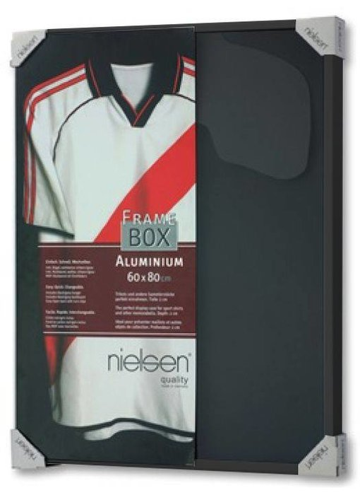 t-shirt lijst Nielsen Framebox II - 60 x 80 cm zwart