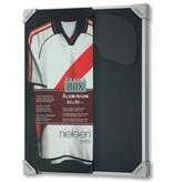 DLF Kleding inlijsten Nielsen Framebox II - 60 x 80 cm zilver