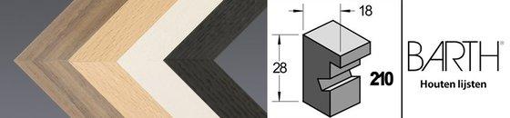 Wissellijst Barth 210 - 18 mm breed