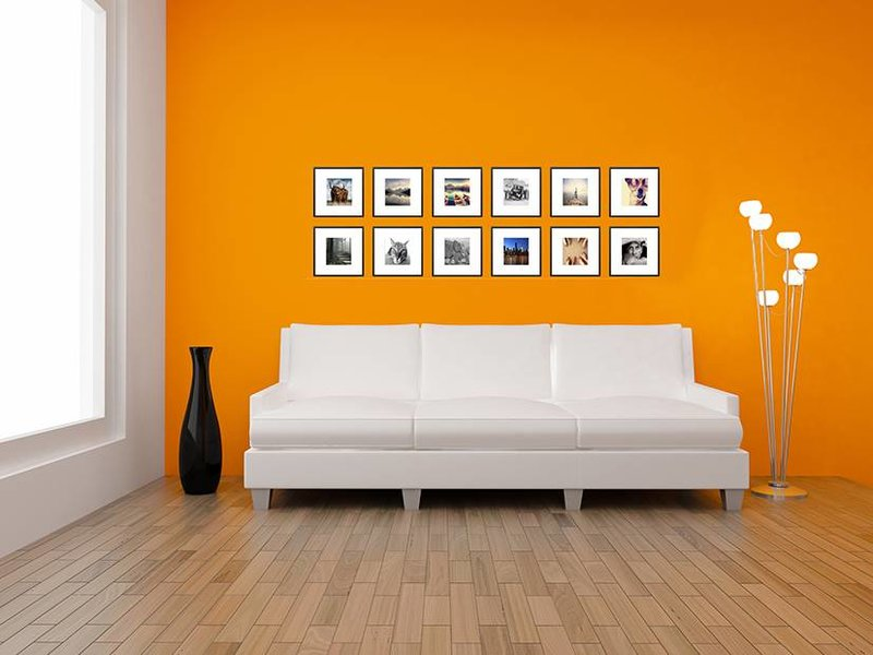 DLF Collage met 30 x 30 cm B-Line aluminium B-Line wissellijsten mat zwart, met extra voordeel