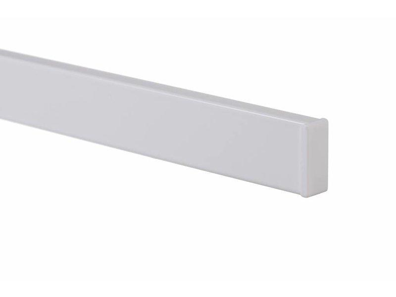 STAS cliprail wit smart pack 2 x 1 meter pakket - tot 20 kg per meter