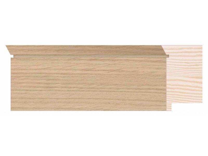 DLF Touchwood Unique XL - Eiken afwerking met opstaande rand