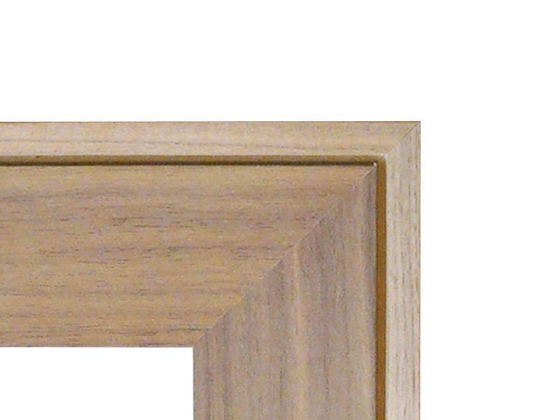 DLF Touchwood Unique XL - Walnoot afwerking met opstaande rand