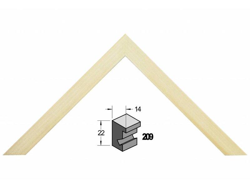 Barth Blank massief populieren houten Barth wissellijst 209-777