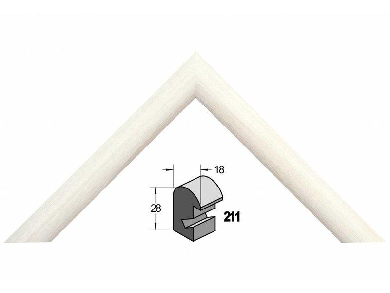 Barth Wit populier houten Barth wissellijst 211-300