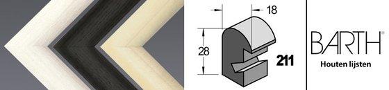 Wissellijst Barth 211 - 18 mm breed