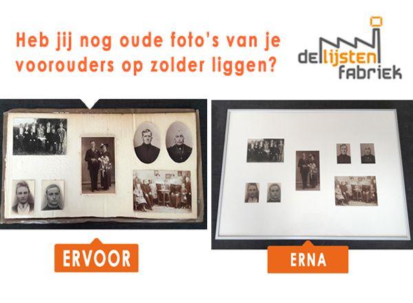 Heb jij nog oude foto's van je voorouders op zolder liggen?