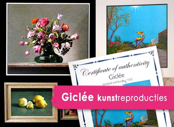 Nieuw - Nu ook giclée ART prints!
