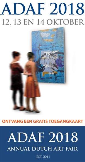 Bezoek kosteloos de Annual Dutch Art Fair 2018