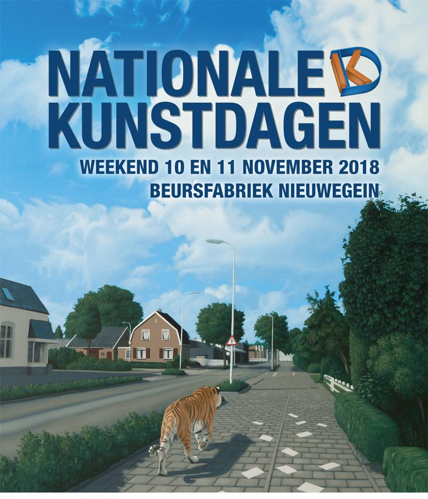 Bezoek kosteloos de Nationale Kunstdagen