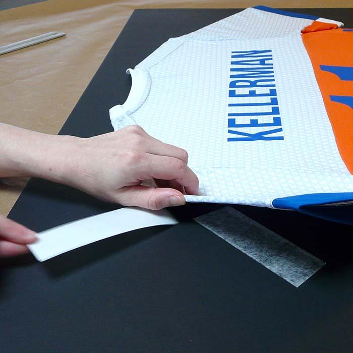plakken en inlijsten T-shirt Bjorn Kellerman