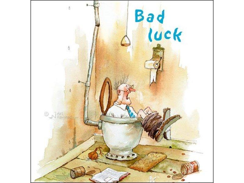 DLF Bad luck van Marius van Dokkum inclusief passe-partout