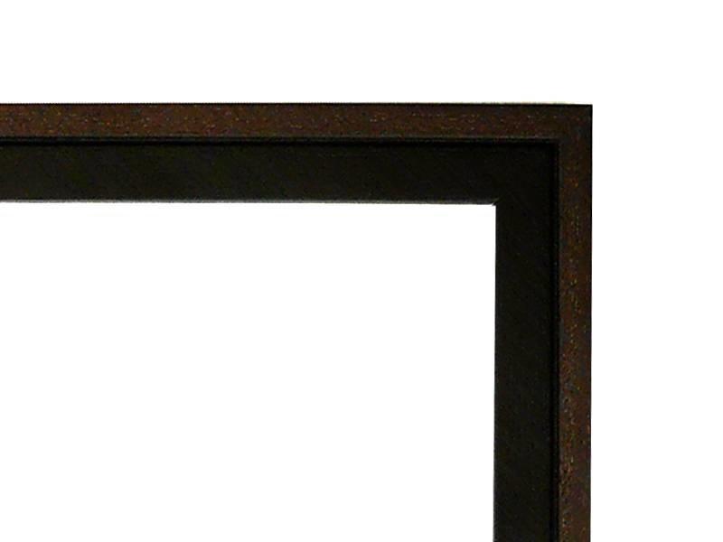 DLF Duo Tone zwart koloniale lijsten - houten wissellijst uit een stuk