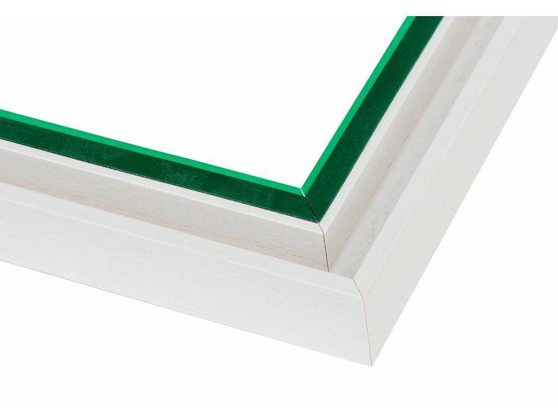 DLF Premium Paneel lijst wit - voor dibond en andere panelen