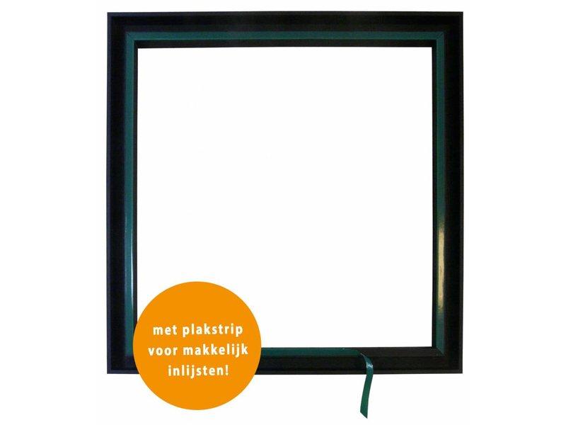 DLF Premium Paneel lijst zwart - voor dibond en andere panelen