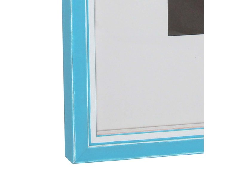 DLF Wissellijsten Luminoso Line - licht blauw met witte spacer