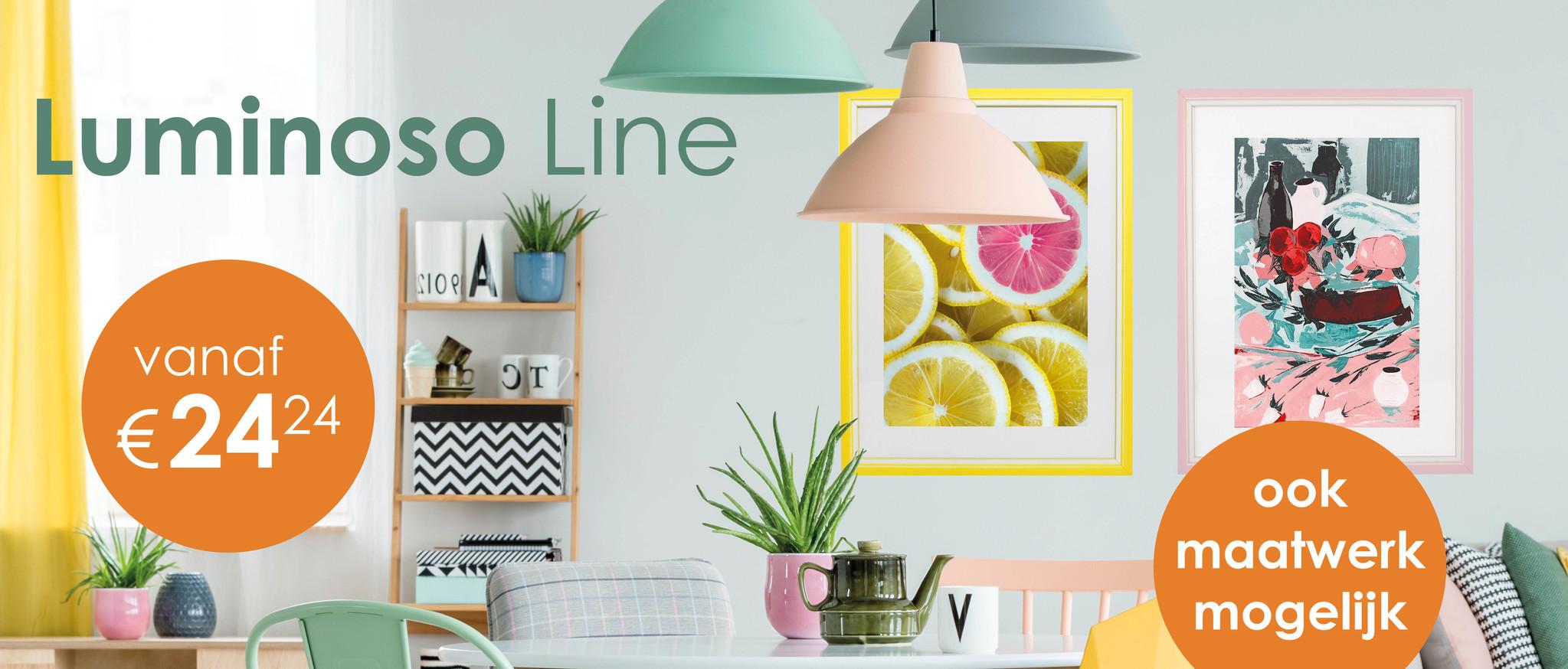 Luminoso Line wissellijsten