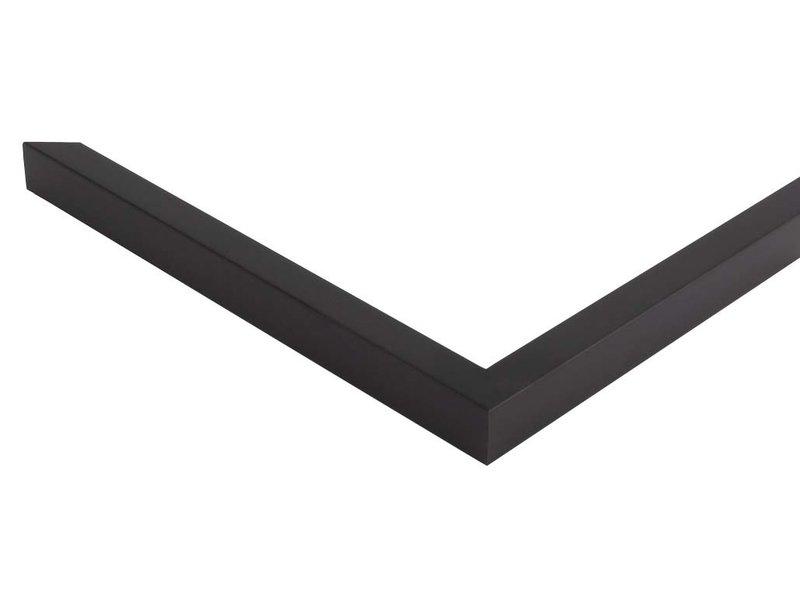 DLF Zwarte fineer Basic Line wissellijsten
