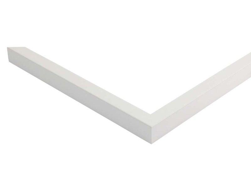 DLF Witte fineer Basic Line wissellijsten