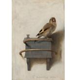 Het Puttertje - op canvas geprint en ingelijst in een baklijst