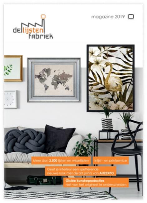 Magazine van De Lijsten Fabriek nu ook online