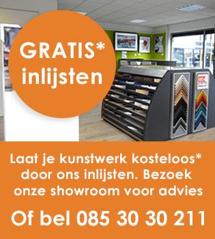 Lijsten showroom in Nieuwegein (Utrecht)