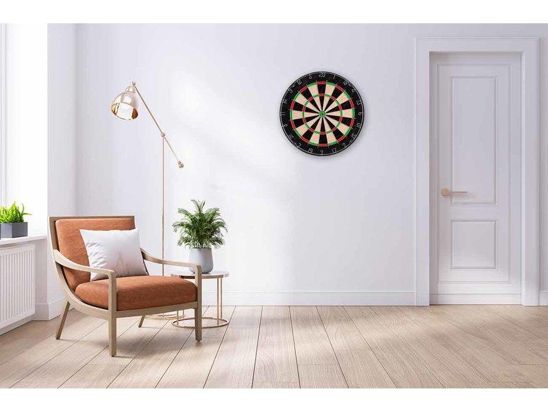60 x 90 cm lijst compleet met inlijsting over dartbord