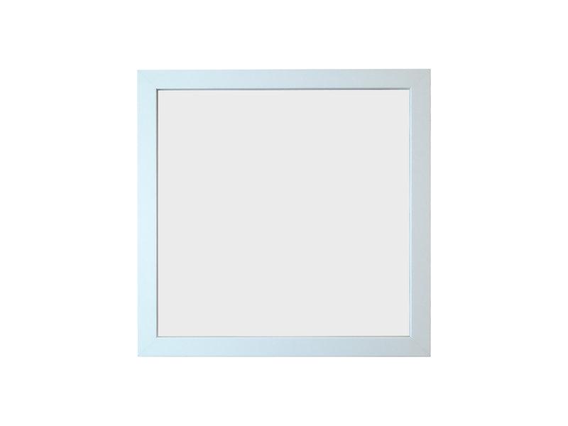 Verdiept inlijsten in 3D lijst met musemglas - wit