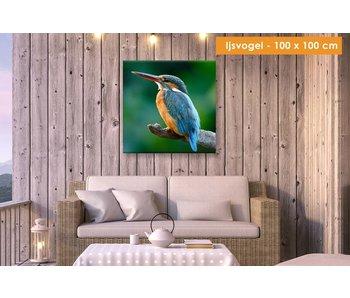 Buiten canvas 100 x 100 cm