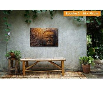 Buiten canvas 60 x 90 cm