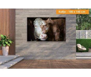 Buiten canvas 100 x 150 cm