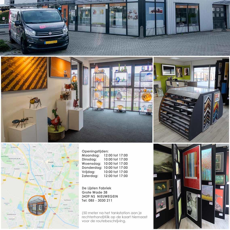 Showroom De Lijsten Fabriek - Utrecht Nieuwegein