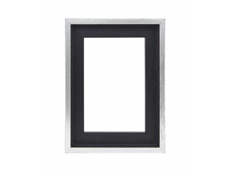 DLF Premium Baklijst zwart/zilver - luxe design baklijsten