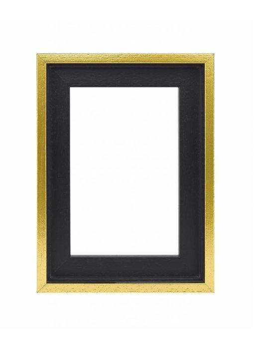 Premium Baklijst zwart/goud