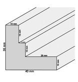 DLF Extra snel leverbare baklijsten Ambiance blank hout met trap
