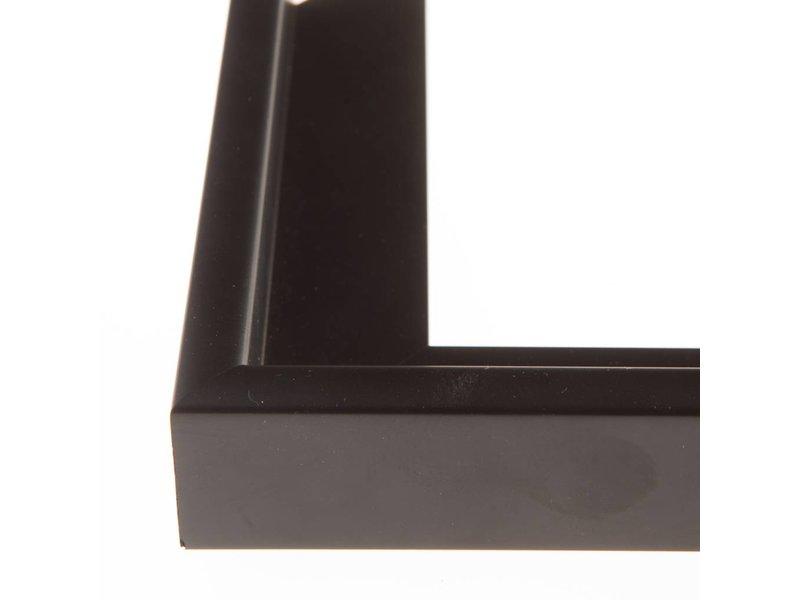 DLF Extra snel leverbare baklijsten Ambiance zwart hout zonder trap