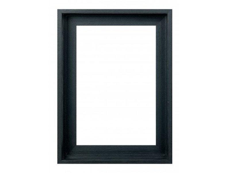 DLF Premium 3D Baklijst zwart - extra diepe baklijst