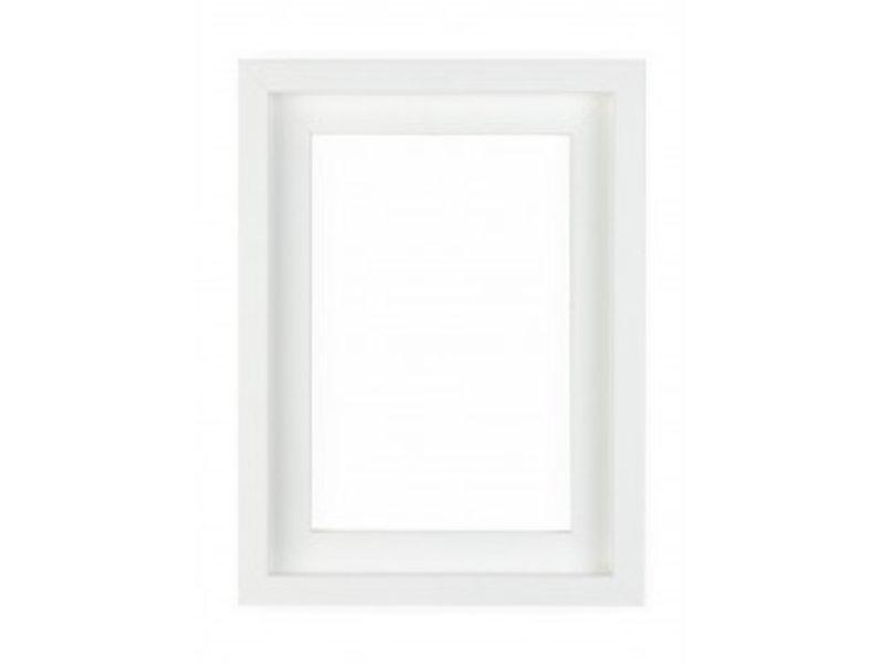 DLF Premium XL Baklijst wit - extra brede baklijst
